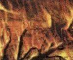 Удар приводит к взрыву и выделению энергии, отчего происходят многочисленные лесные пожары.